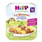 Hipp - Cannelloni aux Légumes Assiette 250g