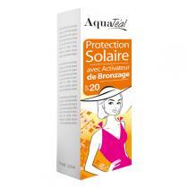 Aquatéal - Protection Solaire Avec Activateur Spf Moyen 100ml