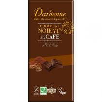 Dardenne - Coffee Dark Chocolate Bar 70g