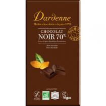 Dardenne - Dark Chocolate Bar 70% Cocoa 180g