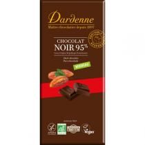 Dardenne - Tablette chocolat noir tradition 95% 90g