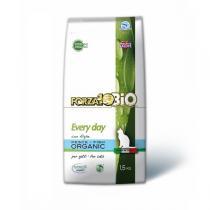 Forza 10 Bio - Croquettes bio Everyday chat Poisson et algues 1,5kg