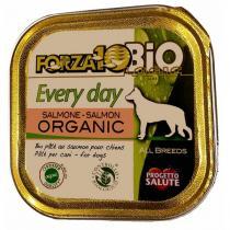 Forza 10 Bio - Pâtée pour chien bio barquette Saumon 100g