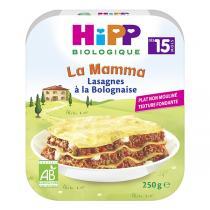 Hipp - Lasagnes à la Bolognaise Assiette 250g