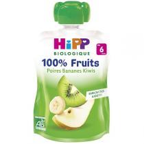 Hipp - Gourde Poires Bananes Kiwis 90g