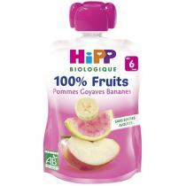 Hipp - Gourde Pommes Goyaves Bananes 90g