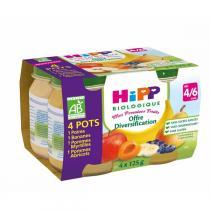 Hipp - Mes Premiers Fruits 4x125g