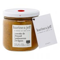 Karine & Jeff - Cocotte de fenouil, potimarron et figues 350g