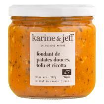 Karine & Jeff - Fondant de patates douces, tofu et ricotta 360g