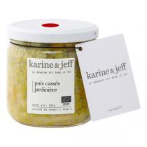 Karine & Jeff - Pois cassés jardinière 360g