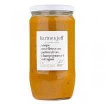 Karine & Jeff - Soupe potimarron, champignons et estragon 78cl