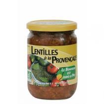 Le bonheur est dans le pot - Lentilles à la Provençale - 380g
