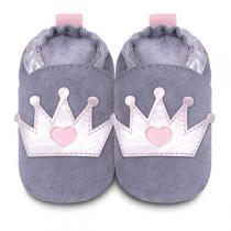 Shooshoos - Chaussons bébé Couronne 0-24 mois