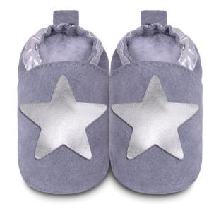 Shooshoos - Chaussons Etoile Silver 0-24 mois