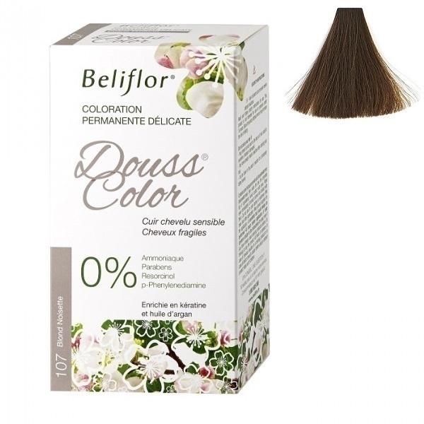 Beliflor - Coloration Dousscolor Blond Noisette 131ml