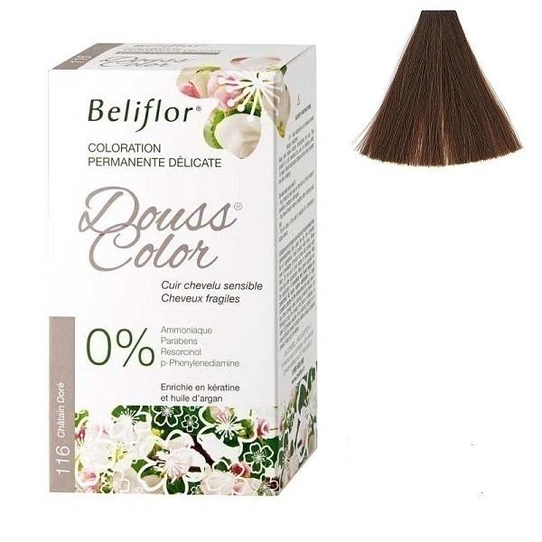 Beliflor - Coloration Dousscolor Châtain Doré 131ml