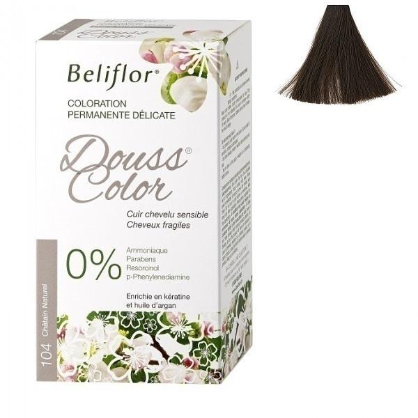 Beliflor - Coloration Dousscolor Châtain Naturel 131ml