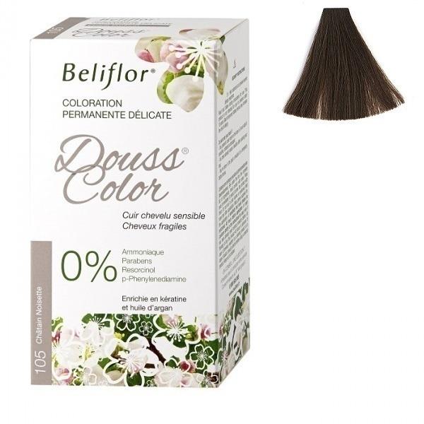Beliflor - Coloration Dousscolor Châtain Noisette 131ml