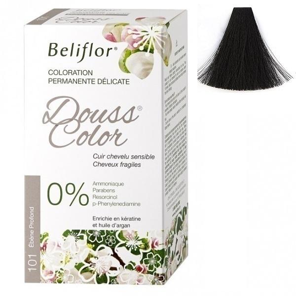 Beliflor - Coloration Dousscolor Ebène Profond 131ml