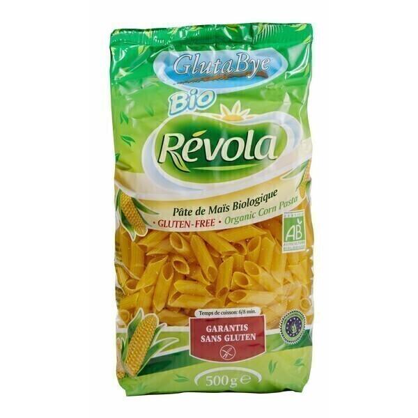 BioRevola - Mezze penne maïs bio 500g