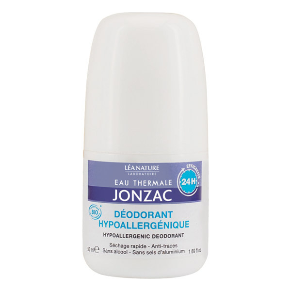 Eau Thermale Jonzac - Déodorant hypoallergénique 24h 50ml
