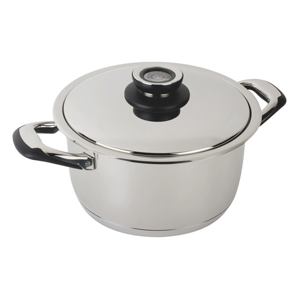 Ecovitam - Faitout cuiseur basse température avec couvercle 6L