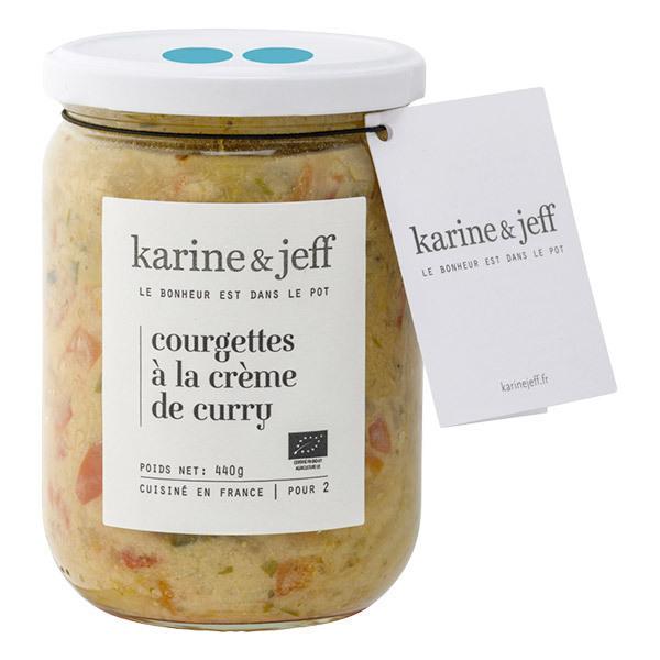 Karine & Jeff - Courgettes à la crème de curry 440g