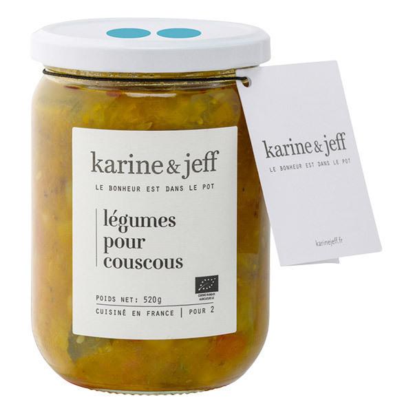 Karine & Jeff - Légumes pour couscous 520g