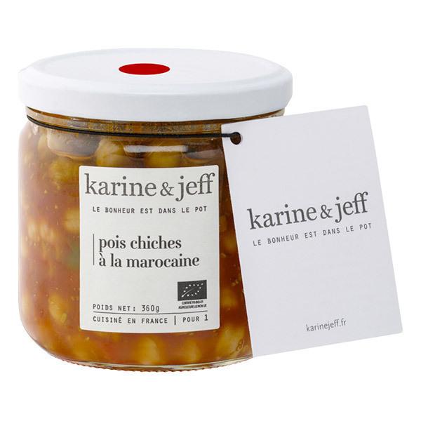 Karine & Jeff - Pois chiches à la marocaine 360g