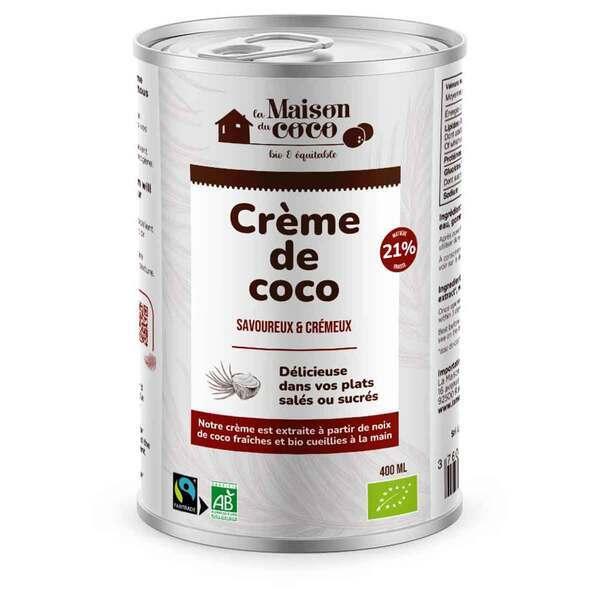 La maison du Coco - Crème de coco 21% MG 400ml