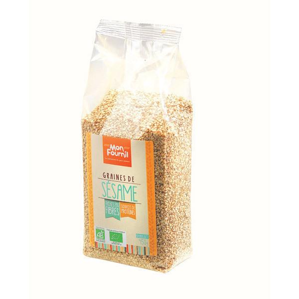 Mon Fournil - Graines de Sésame bio 450 g