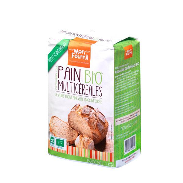 2652f83b9b3 Mon Fournil - Préparation pain bio Multicéréales 1 kg