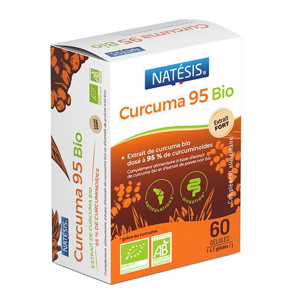 Natésis - Curcuma 95 bio 60 gélules