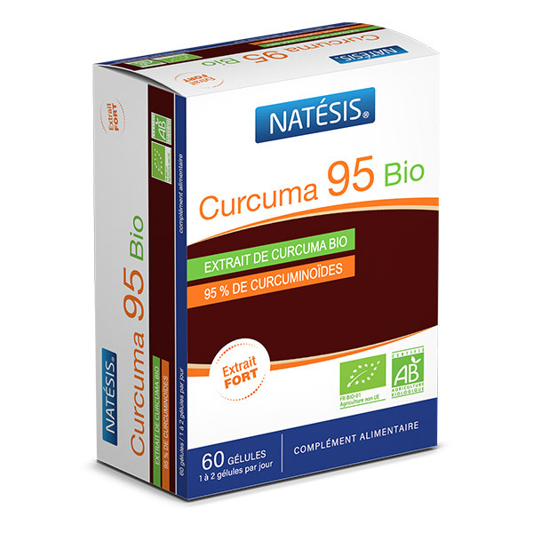 Natésis - Curcuma 95 Bio x 60 gélules