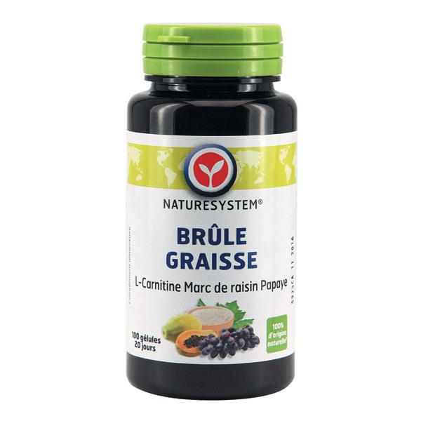 Brûle-graisse - L-Carnitine, Marc de Raisin, Papaye 100