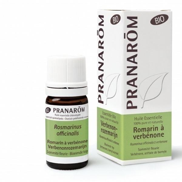 Pranarôm - Huile essentielle de Romarin à verbénone 5ml