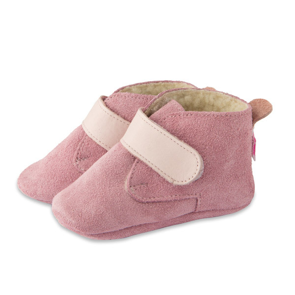 Shooshoos - Chaussons Booties Pink Powder 0-24 mois