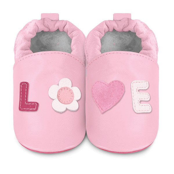 Shooshoos - Chaussons Love Rose 0-24 mois