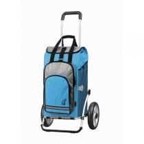 Andersen - Chariot Royal Shopper HYDRO pneumatique turquoise
