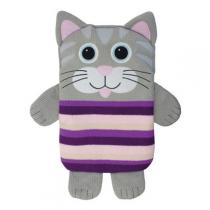 Aroma Home - Peluche Snuggle Hottie Chat Gris