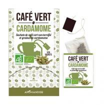 Aromandise - Café Vert Cardamome 20 sachets