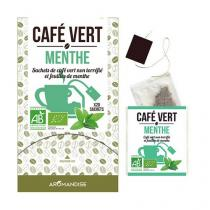 Aromandise - Café Vert Menthe 20 sachets