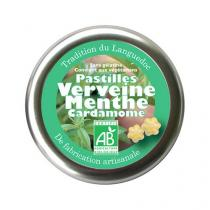Aromandise - Pastilles Verveine Menthe Cardamome 45g
