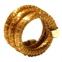 Artisanat SEL - Golden Grass Wrap Ring