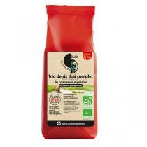 Autour du Riz - Trio de riz thaï complet brun, rouge, noir 500g
