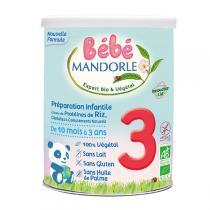 Bébé Mandorle - Bébé Mandorle 3 Préparation de céréales à complément protéinique
