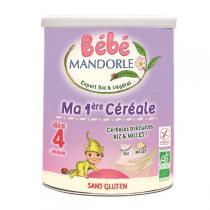 Bébé Mandorle - Ma première céréale, préparation aux 2 céréales 400gr