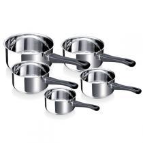 Beka - Lot de 5 casseroles Polo 12 à 20cm