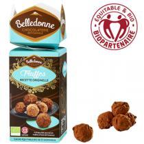 Belledonne - Truffes chocolat noir 72% édition spéciale 140g