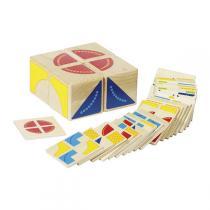 Goki - Puzzle Kubus à encastrement en bois - Dès 3 ans